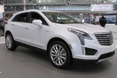 The 2017 Cadillac XT5  (Mike Twist Photo)