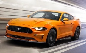 The 2018 Ford Mustang  (Ford Photo)