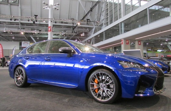 The 2017 Lexus GSF Sedan  (Mike Twist Photo)