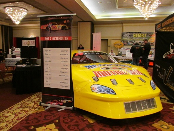 The Granite State Pro Stock Series recently took part in the Racer's Expo.  (Mike Twist Photo)