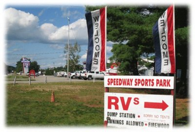 The entrance to Speedway Sports Park.  (Speedway Sports Park Photo)
