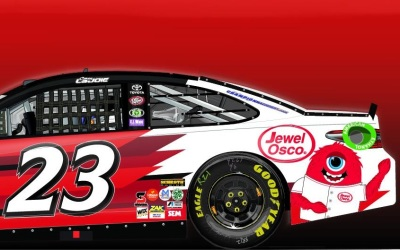 The BK Racing #23.  (BK Racing Photo)