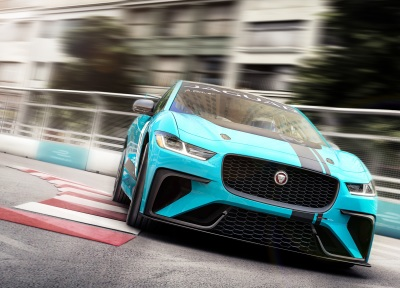 Jaguar Charges Up an All-Electric Racing Series