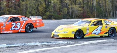 Dave Farrington (#23) and Ben Rowe (#4) are both Mainers who will be racing at Hickory. (PASS Photo)