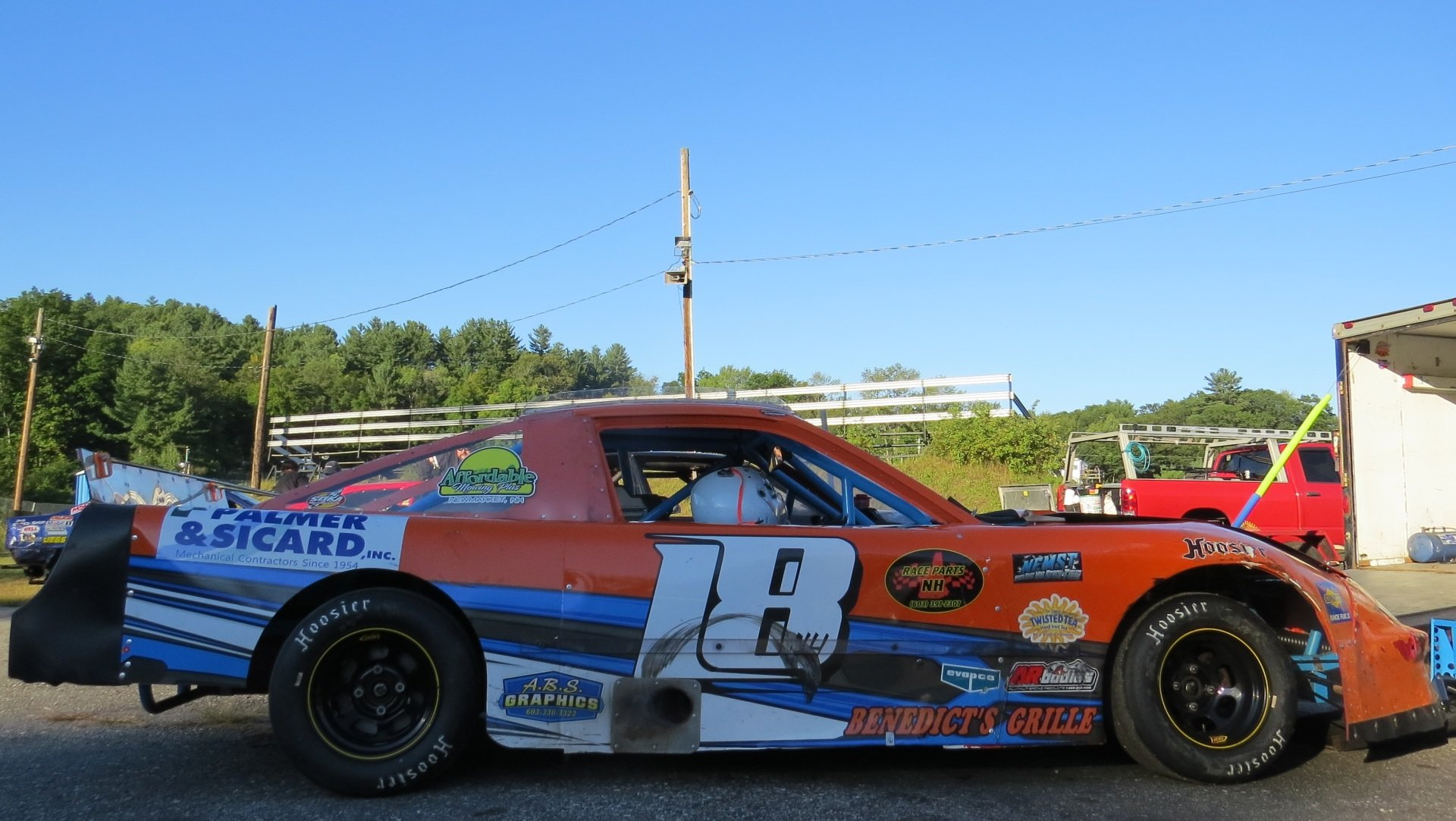 NH Racer Starts a Racing Raffle to Help Sponsor in Need